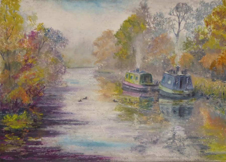 Autumn on the Leicester Arm