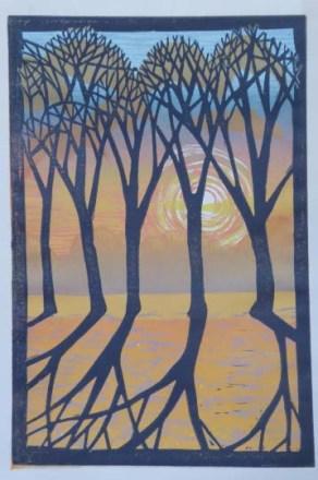 Dawn Trees2