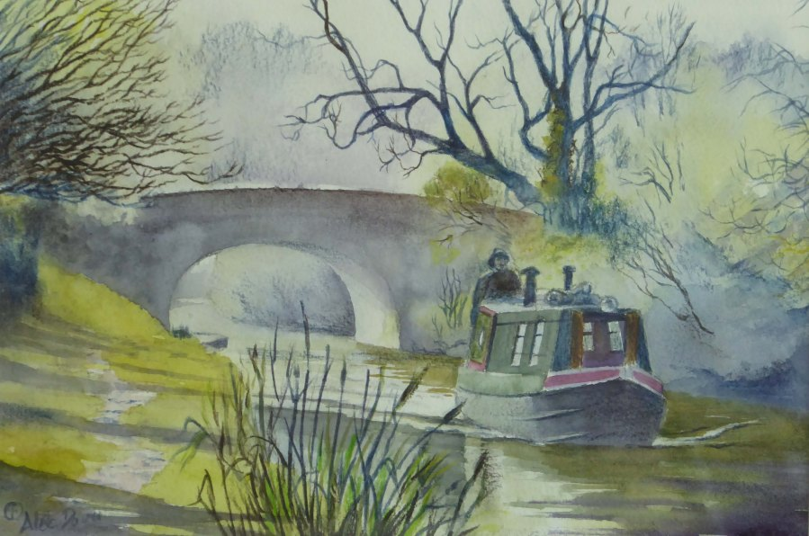 Early Spring on the Canal